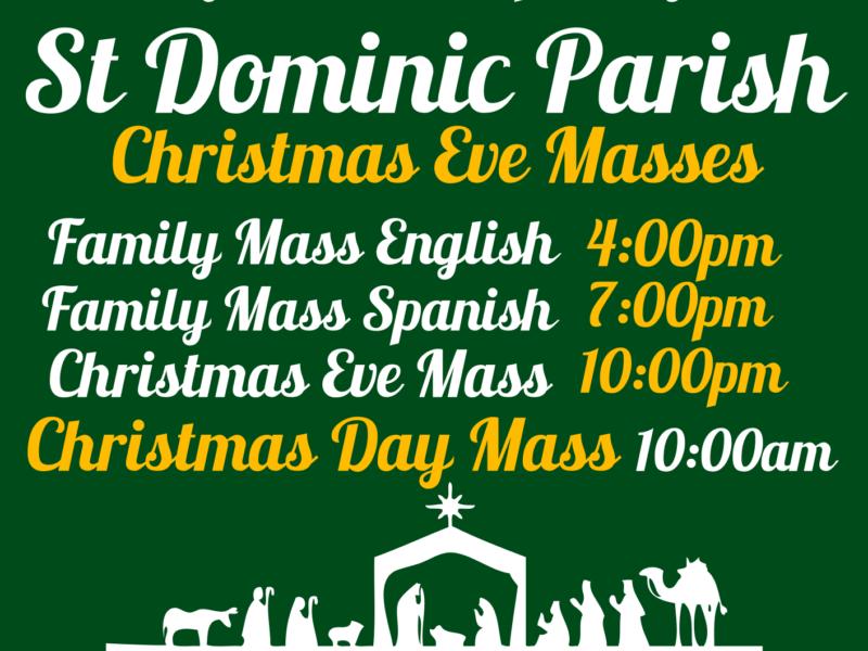 2018 Christmas Masses